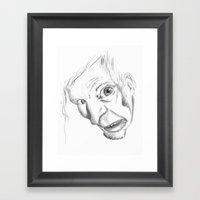 Selfportrait Framed Art Print