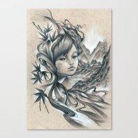 Nao-Ki Canvas Print