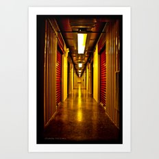 Hallway of Sentiment Art Print