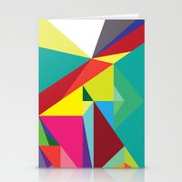 Geo-01 Stationery Cards