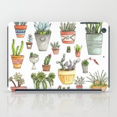 Potted Succulents iPad Case