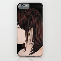 iPhone & iPod Case featuring japan girl by thinKING