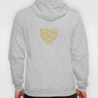 Pretty golden heart Hoody