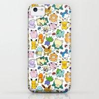 iPhone 5c Cases featuring Cute Pokémon Doodle  by KiraKiraDoodles