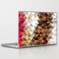 triangle Laptop & iPad Skins featuring Triangle by Susann Mielke