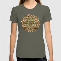 1000 Blättriger Lotus -… Womens Fitted Tee Lieutenant SMALL