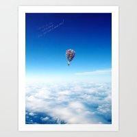 Glamorous Sky Art Print
