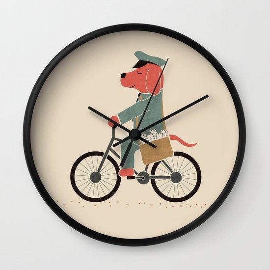 Postdog Wall Clock