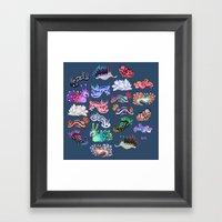 Nudibranch Framed Art Print