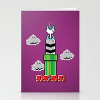 8-Bit Sand Snake Stationery Cards