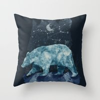 The Great Bear Throw Pillow