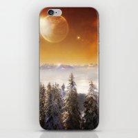Golden Eclipse iPhone & iPod Skin