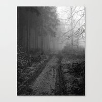 Woodway Canvas Print