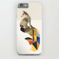 Walking Shadow, Jack Russell iPhone 6 Slim Case