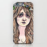 iPhone & iPod Case featuring Ophelia by Theresa Flaherty