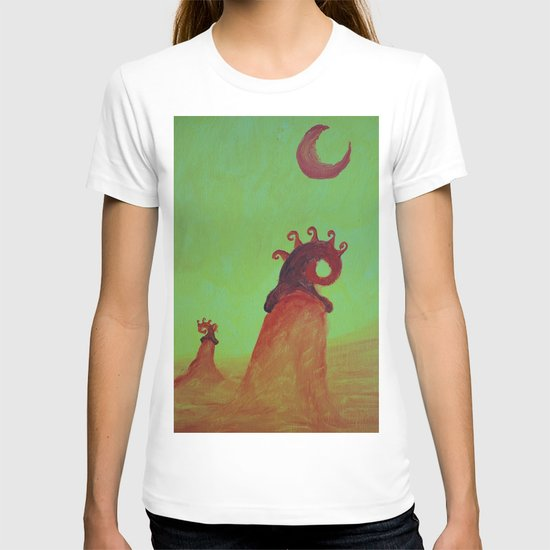 Plants and Moon T-shirt