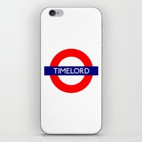 Timelord iPhone & iPod Skin