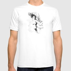 Boom!!! Mens Fitted Tee SMALL White