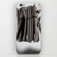 In a pinch iPhone & iPod Skin