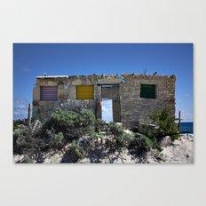 Beach Ruins Canvas Print