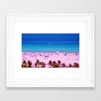 Miami Nice Framed Art Print