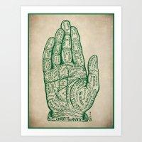 Sivartha Hand Art Print