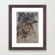 wanna smoke? Framed Art Print