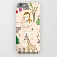 paper doll iPhone 6 Slim Case