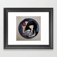 The First Seduction Or B… Framed Art Print