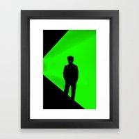 Gö Framed Art Print