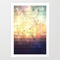 Zkyy Flyy Art Print