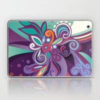 Floral Curves Of Joy Laptop & iPad Skin