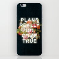iPhone & iPod Skin featuring Plans Really Do Come Tru… by Heather Landis