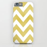 iPhone & iPod Case featuring LINEN CHEVRON by natalie sales