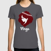 Virgo: the Virgin Womens Fitted Tee Asphalt SMALL