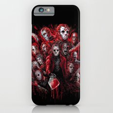 Jason Voorhees Friday the 13th Many faces of  iPhone 6 Slim Case