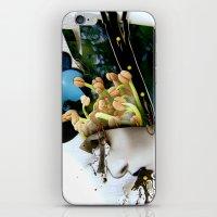 AiVee portrait | Collage iPhone & iPod Skin