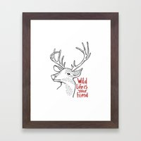 Wildlife Is Your Friend Framed Art Print