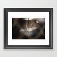 Curiosity 3 Framed Art Print