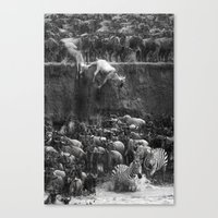 Serengeti Canvas Print