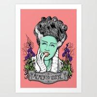 Memento Vivere Art Print