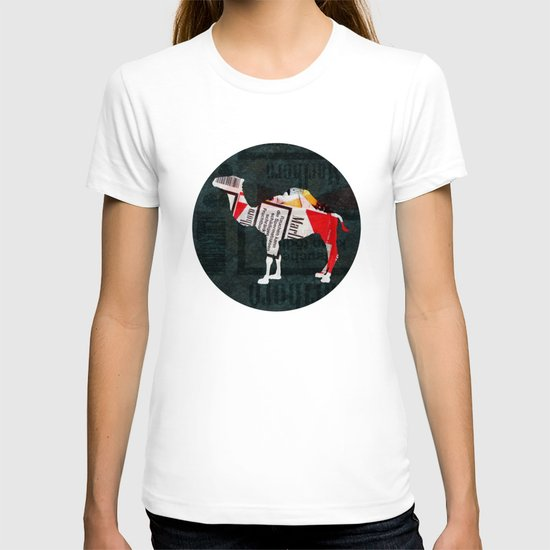 Camel Collage 4F T-shirt