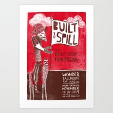 Built To Spill - Wonder … Art Print