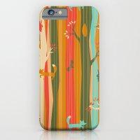 Woodland Stripe Orange iPhone 6 Slim Case
