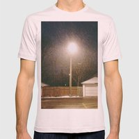 Snow Mens Fitted Tee Light Pink SMALL