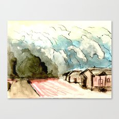 The Dust Bowl Blues Canvas Print