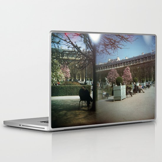 Jardin du Palais Royal, Paris Laptop & iPad Skin