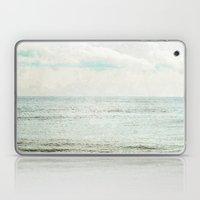Silvery Seas Laptop & iPad Skin