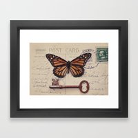 Butterfly No. 1 Framed Art Print