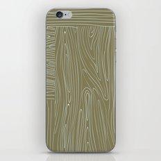 Woodgrain iPhone & iPod Skin